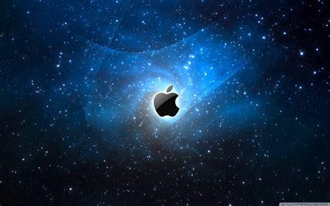 mac different wallpaper for each space apple galaxy blue think different apple mac desktop