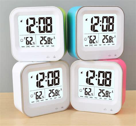 alat untuk membuat jam digital jam digital alarm thermometer dan hygrometer jp9909