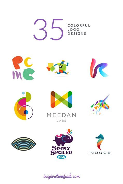 colorful logos 35 stunning exles of colorful logo designs