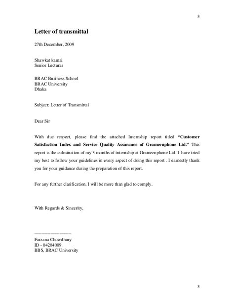 Customer Assurance Letter Letter Of Application Application Letter Of Quality
