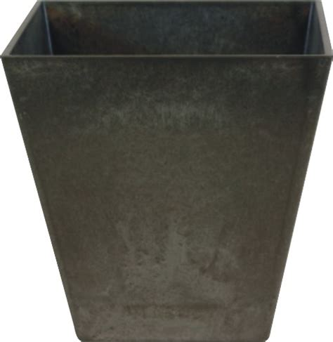 Artstone Planters Uk black ella artstone planter with drainage system 40cm 163 39 99