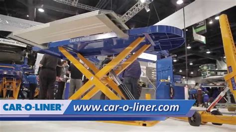car o liner bench rack for sale car o liner speed light weight bench system demo at sema