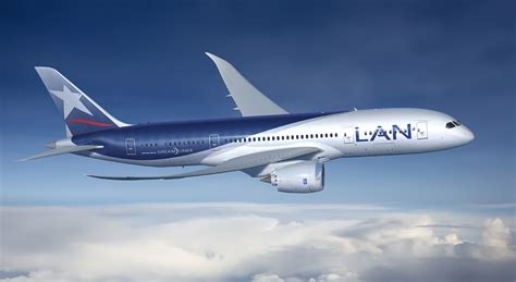 chile s lan airlines gets new boeing 787 airwingmedia