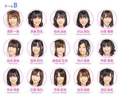 Clearfile Akb48 Team B 2015 akb48 team b generasia