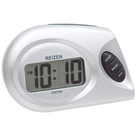 maxiaids reizen lcd talking alarm clock designer style