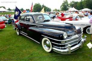 1948 Chrysler Value 1948 Chrysler New Yorker At The Meadow Brook Concours D