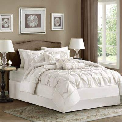 madison park laurel 7 piece comforter set bed bath beyond
