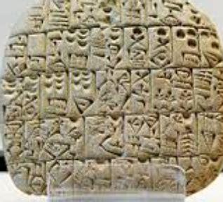 tavole sumere le fonti storiche maestra mihaela