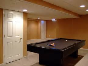 Basement Remodeling Ideas Redo Basement Low Ceiling Basement Ideas