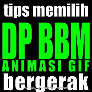 wallpaper animasi dp bbm gambar bergerak gif kumpulan tutorial tips trik cara