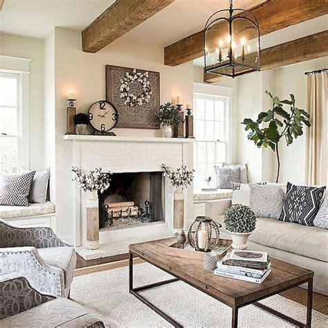 beautiful modern farmhouse living room decor ideas 5