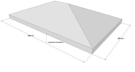 pavillon ersatzdach 3x4 schutzh 252 lle wasserdicht - Faltpavillon Wasserdicht 3x4