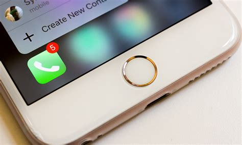 apple iphone 7 to a quot pressure sensitive quot home button