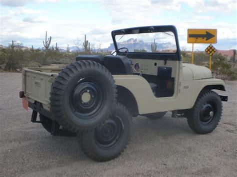 56 Jeep Willys 1956 Willys Cj5 Ecj5