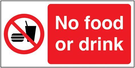 no food or drink no food or drink signs seton uk
