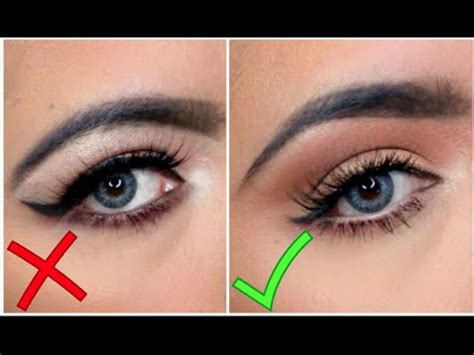 imagenes de ojos grandes y feos maquillaje de ojos parpado caido errores y aciertos