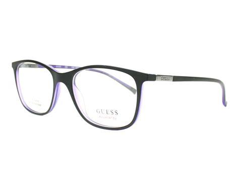guess gu 1869f 002 frame kacamata guess eyeglasses gu 3004 002 black visio net