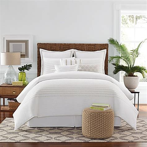 real simple comforter real simple boden comforter set in white bed bath beyond