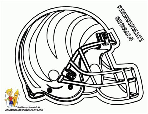 nfl coloring pages get this nfl coloring pages helmets 17391