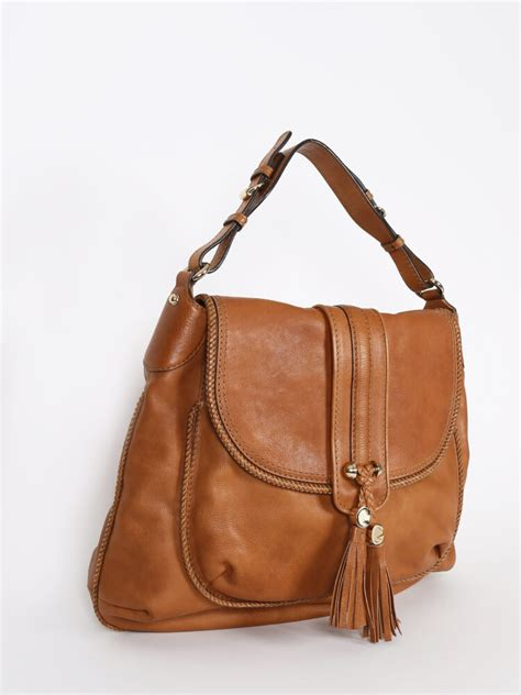 g ci leather brown gucci marrakech brown leather shoulder bag luxury bags