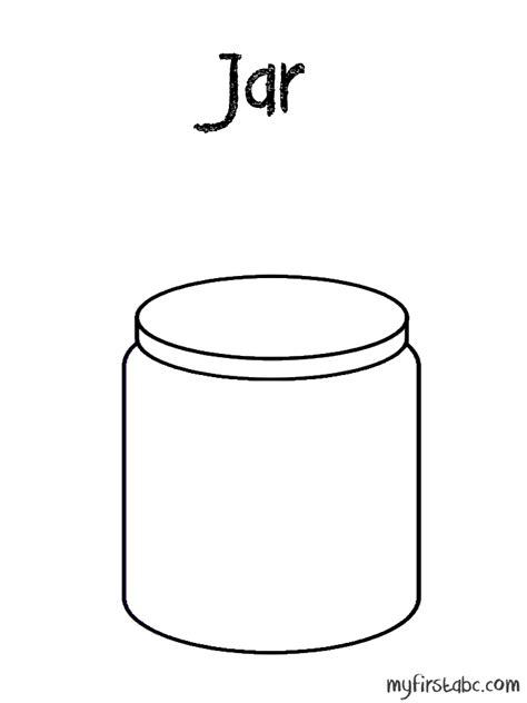 coloring page jar 16 images of jar coloring pages jar