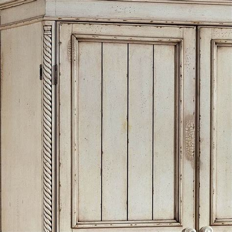 hillsdale wilshire distressed wardrobe antique white
