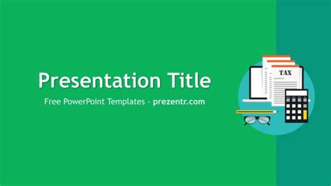Free Corporate Tax Powerpoint Template Prezentr Tax Ppt Templates Free