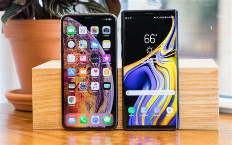 iphone xs max vs galaxy note 9 the battle of the giants