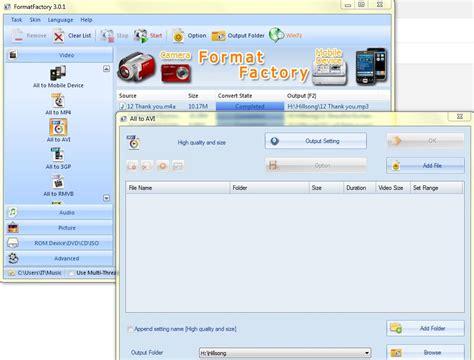 format factory safe format factory easy installation error ilicprop