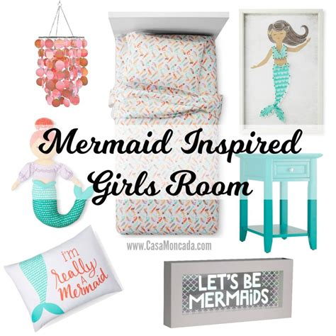 mermaid inspired bedroom mermaid inspired girls room casa moncada
