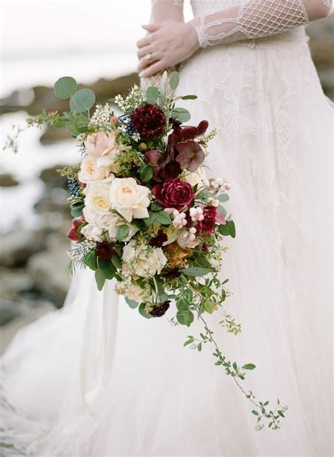 Best 25  Cascading bridal bouquets ideas on Pinterest