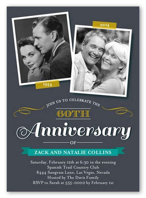 Sweet Times 5x7 Invitation   Wedding Anniversary