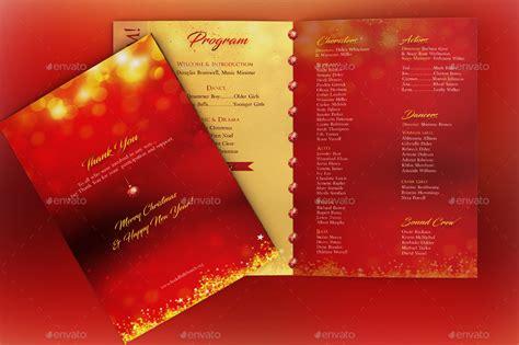 rejoice christmas cantata program template by godserv2