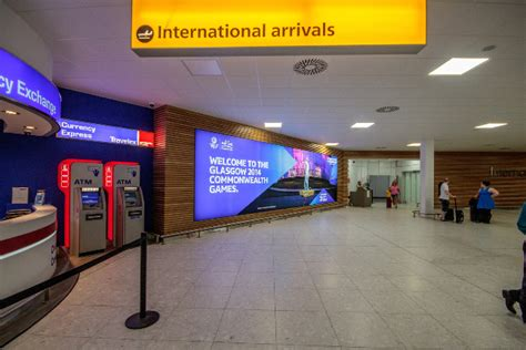 glasgow airport flight arrivals at glasgow airport live international arrivals glasgow airport pacific building