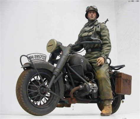 bmw 9 motorcycle german bmw r75 1 9 scale by 반즈중사 sergeant barnes