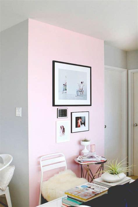 wohnzimmer rosa grau farbgestaltung ideen f 252 r ein strahlendes zuhause