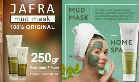 Masker Jafra Kemasan Kecil jafra mud mask dapatkan wajah putih dan bersinar alami
