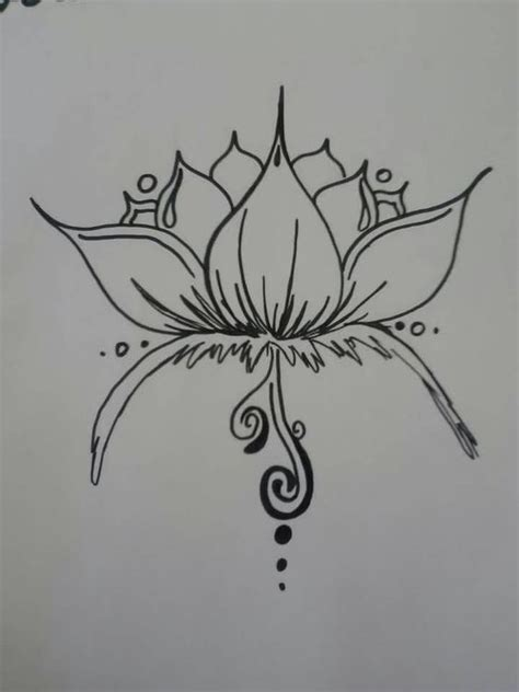 tattoo outline paper japanese fish and lotus flower tattoo outline on paper