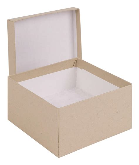 Cheap Gift Boxes Uk - wholesale square kraft brown gift box size 89 x