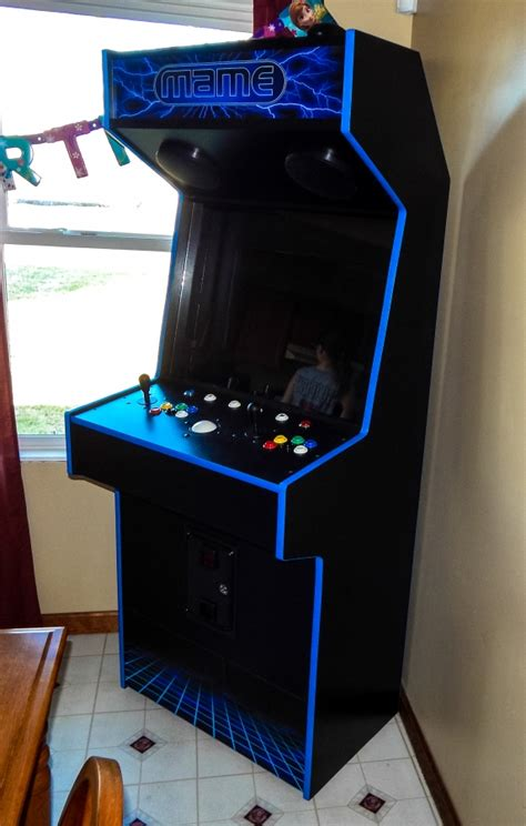 Thin Arcade Cabinet by Tredog S Height Slim Cabinet Cabinets And