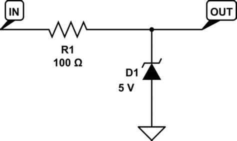 zener diode lightning protection voltage clipping how would i design a protection clipper circuit for adc input electrical