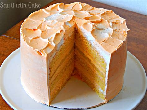 cake recipe orange creamsicle cake recipe say it with cake