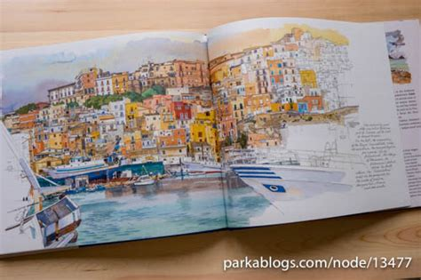 Book Review Sicily Sketchbook By Fabrice Moireau Parka
