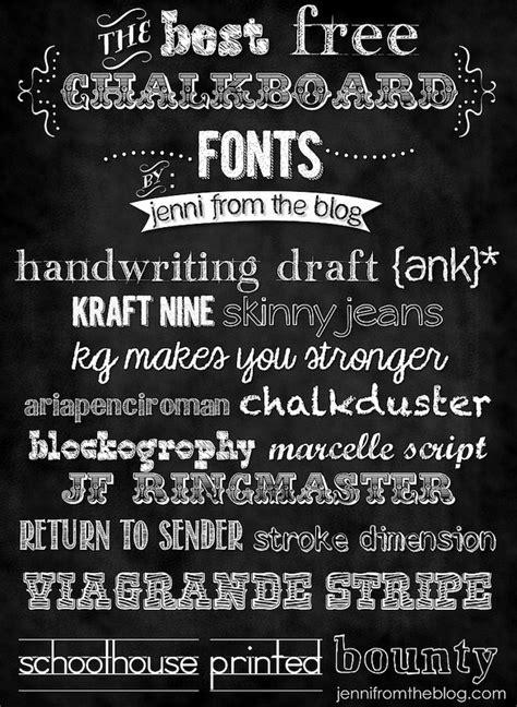 24 chalkboard fonts free otf ttf format download