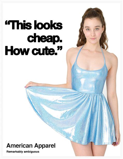 american apparel american apparel remarkably ambiguous american apparel ads