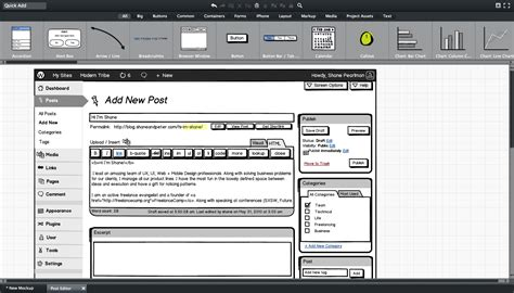 balsamiq templates balsamiq mockups review wp daily