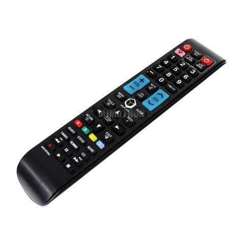 generic remote control  samsung tv unfafxza