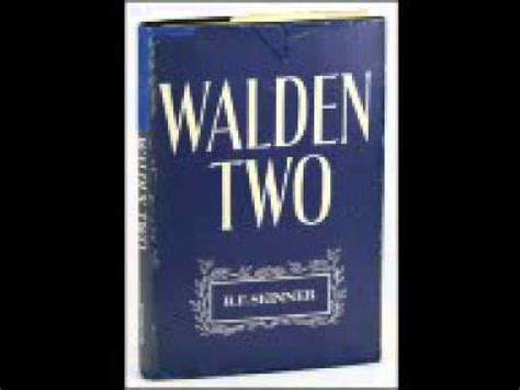 walden two audiobook walden dos walden ii b f skinner audiolibro cap 237 tulos