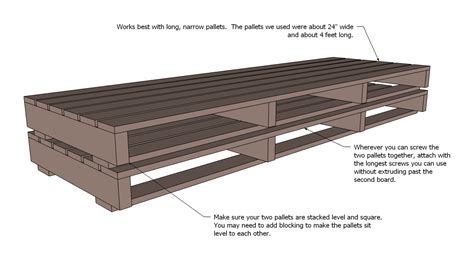 diy pallet sofa instructions ana white pallet sofa with tacoma perry diy projects