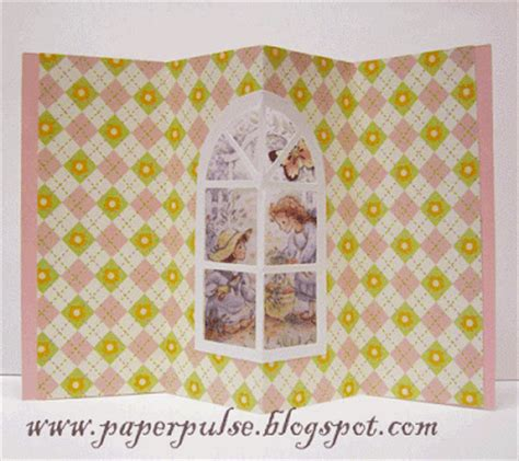 free nativity tunnel card template paper pulse spot a window tunnel and flower pop up card
